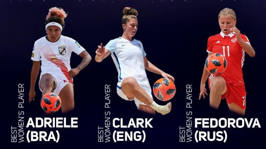 Molly Clark - World Player of the Year Nomination