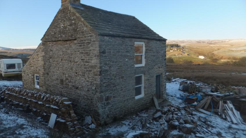 Off grid remote holiday cottage