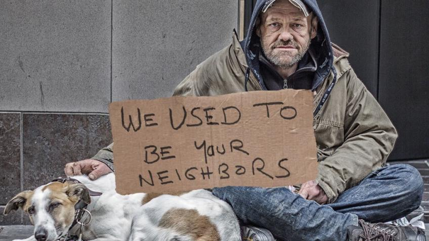 Help the Homeless have a home
