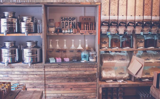 Refill shop, zero waste image