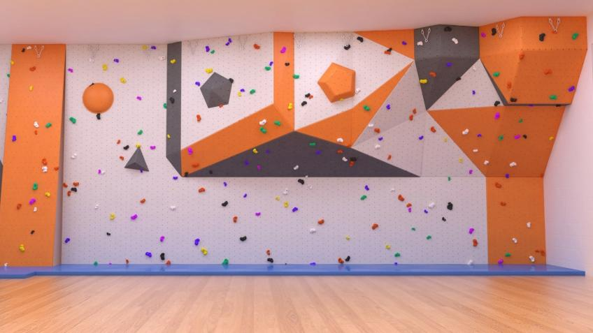 Sports Hall Refurbishment and New Climbing Wall
