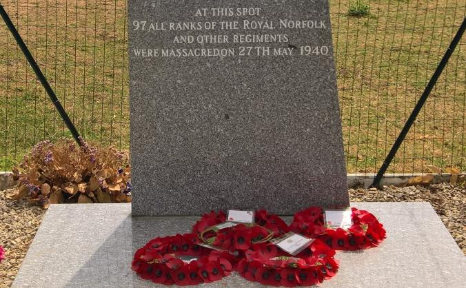 Paradis commemoration group memorial appeal image