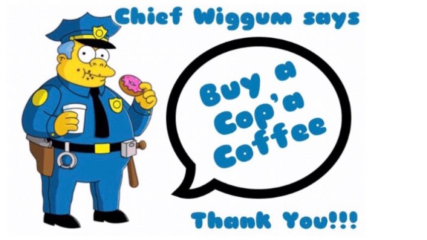 Buy a Cop'a Coffee