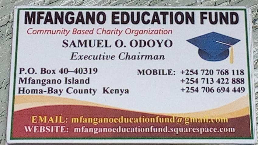 Education - Mfangano Educational Fund, Kenya