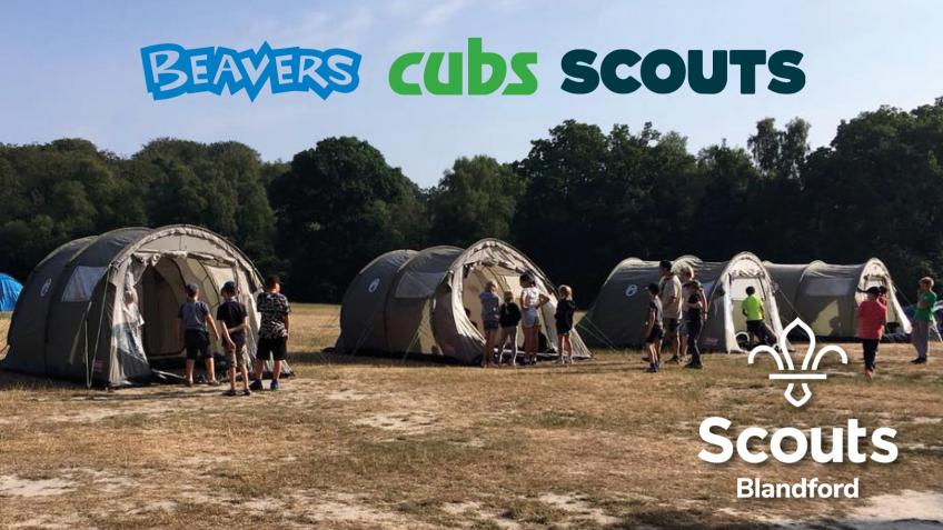 Blandford Scout Group New Camp Equipment