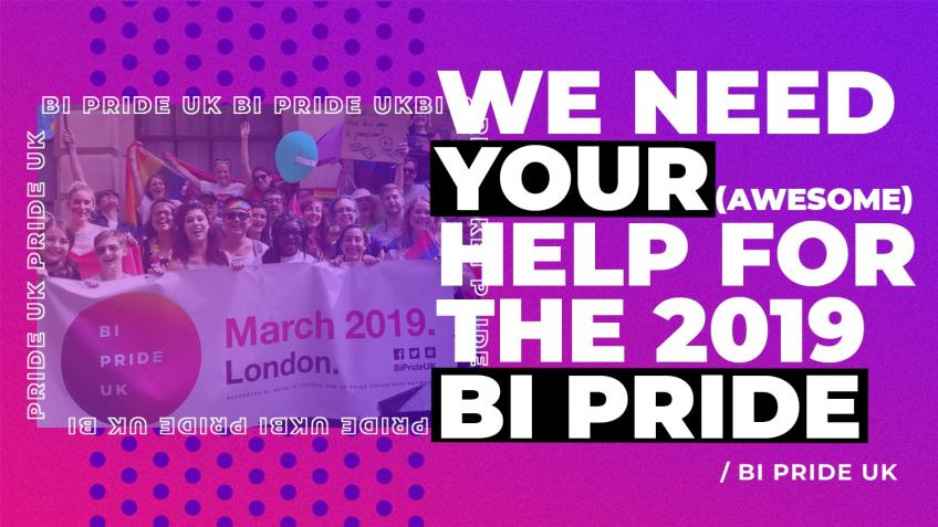 Securing a venue for our 2019 Bi Pride event!