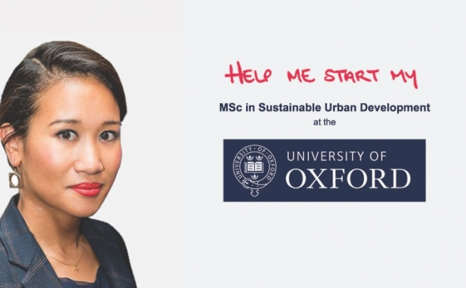 Sustainable urban development, oxford university image