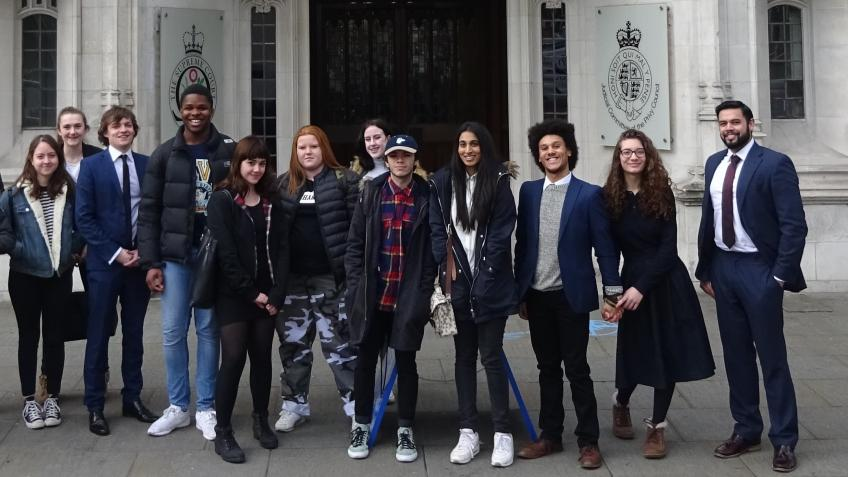 Amazing law trip for underprivileged law students