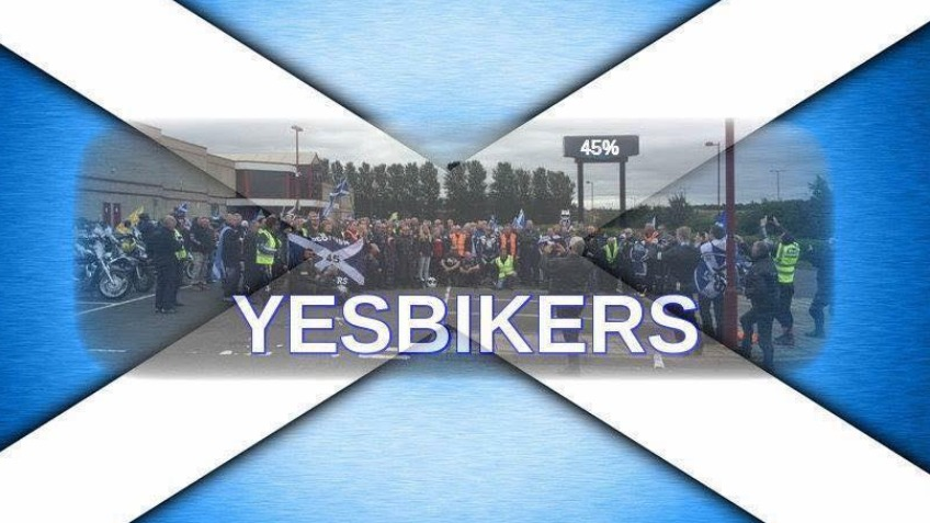 Yes Bikers for Scottish Independence