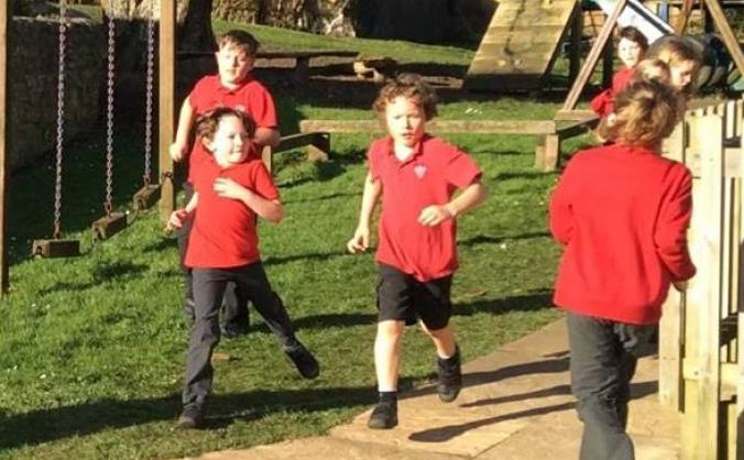 Powerstock school- active, healthy, happy children image