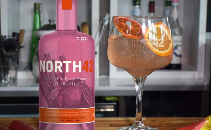 Help us launch our rhubarb and blood orange gin image