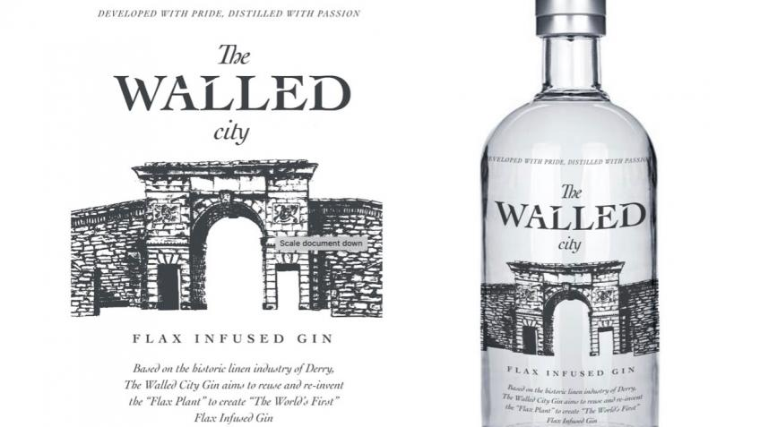 The Walled City Gin (World's 1st Flax Infused Gin)