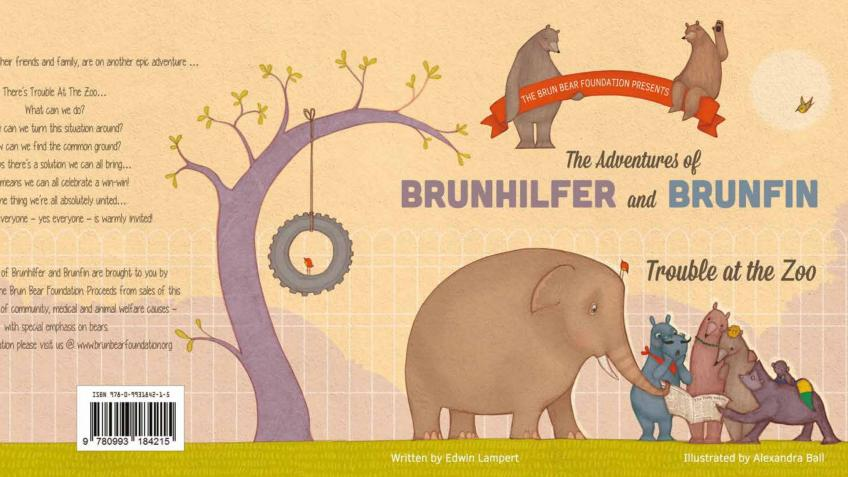 Trouble At The Zoo! by The Brun Bear Foundation