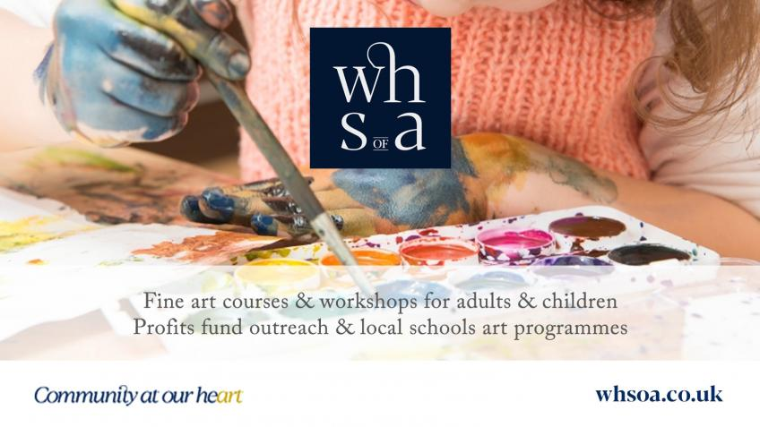 Help WHSoA further art education in west Hampshire
