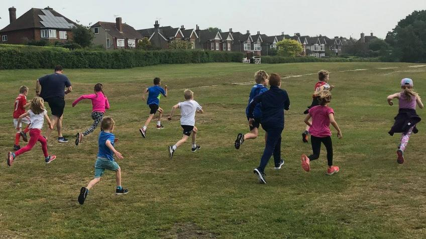 Running Track for Herne Junior School
