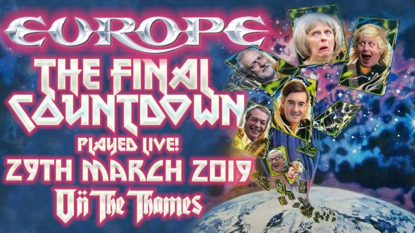 Europe to play The Final Countdown on Brexit Day