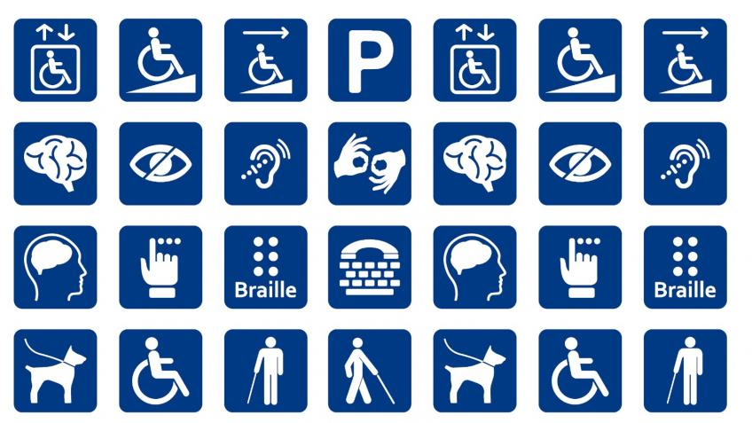 Support disabled people in society