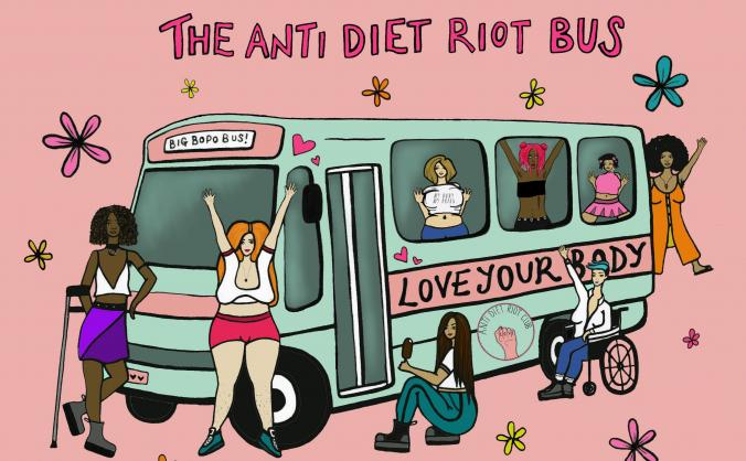 Build the anti diet riot bus to tour the uk! image