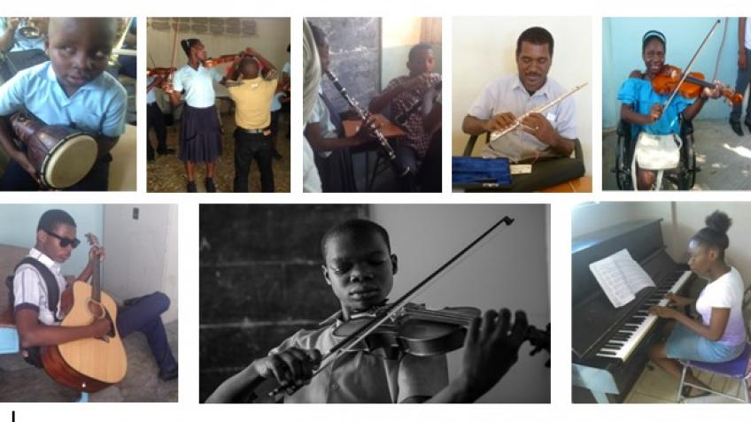 Music for Haiti UK - a Personal Causes crowdfunding project