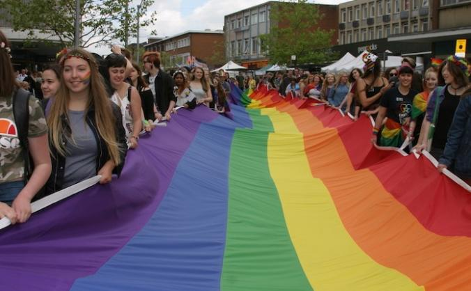 Exeter pride 2019 image