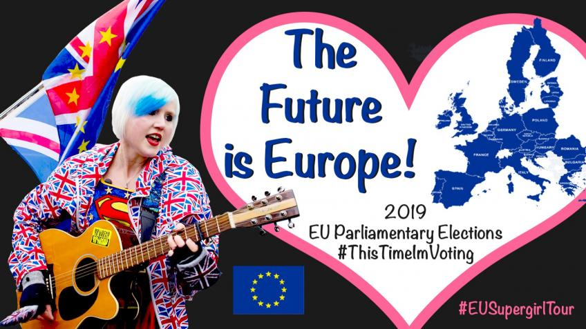 The Future is Europe - EU Supergirl Tour