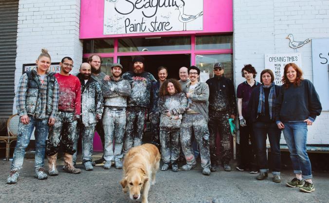 Seagulls life house: time to grow image