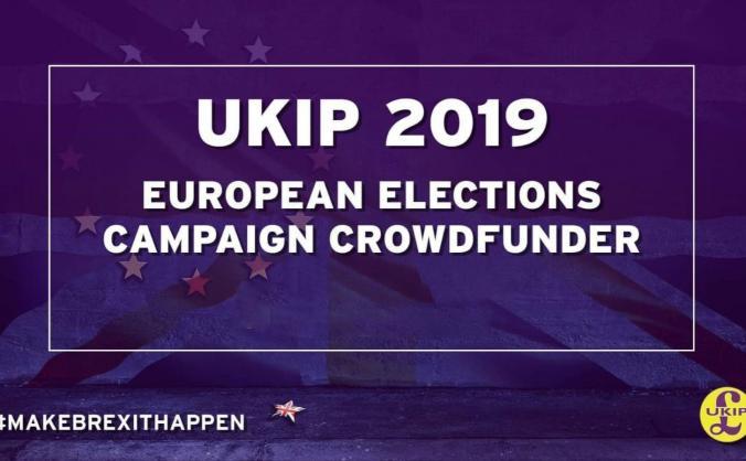 Ukip 2019 eu election campaign fund image