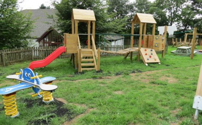 Lamerton village play and sport equipment fund image