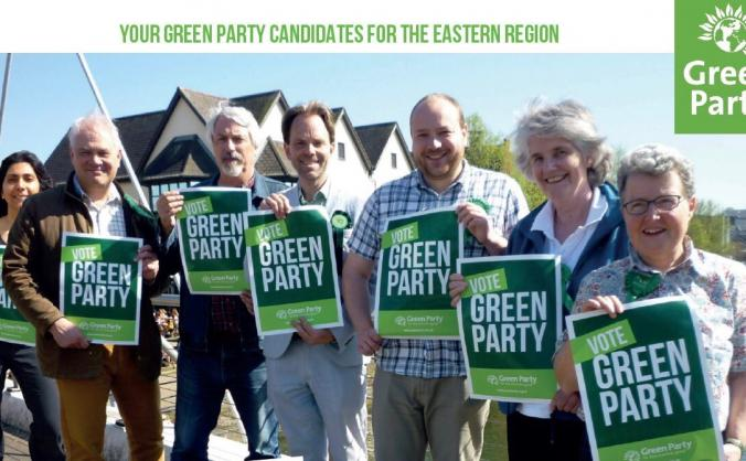 Help elect the east of england's first green mep image