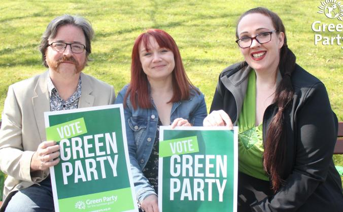 North east green party: mep candidates april 2019 image