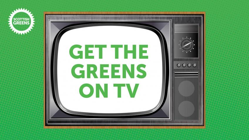 Get the Greens on air for the European elections