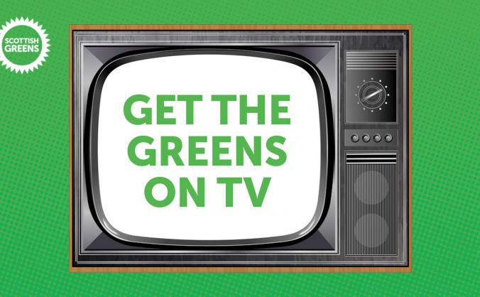 Get the greens on air for the european elections image