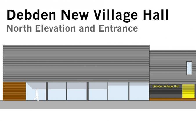 Debden new village hall image
