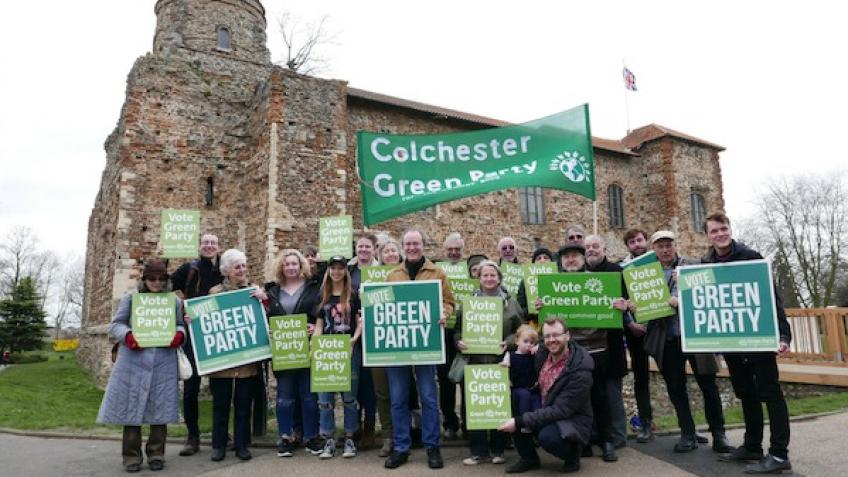 Elect more Greens in Colchester