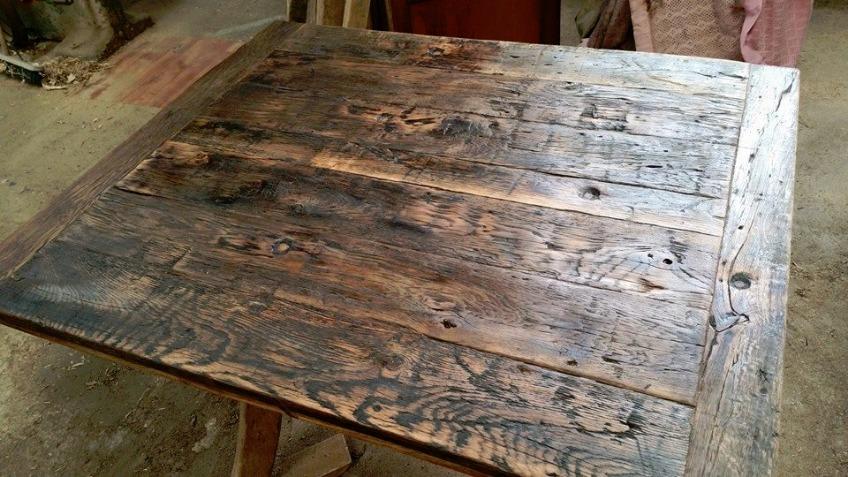 reclaimed oak furniture. Handcrafted Reclaimed Oak Furniture H