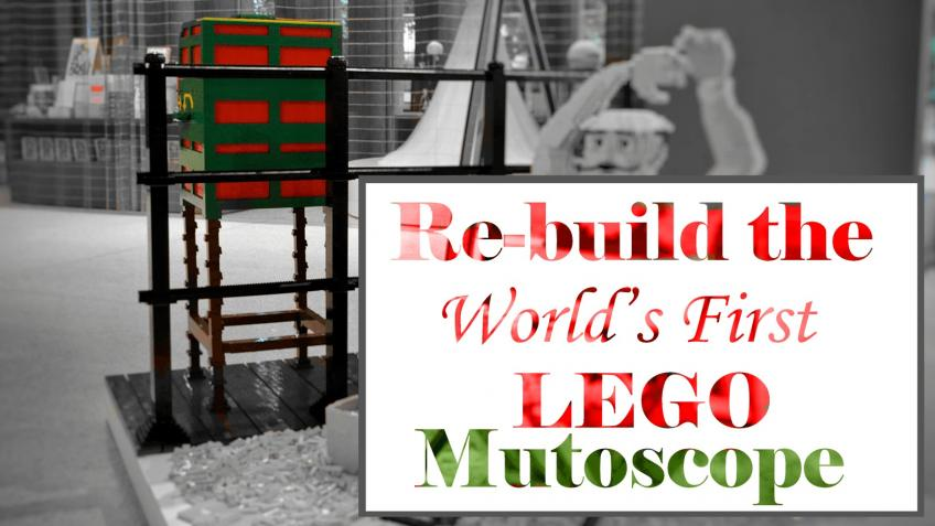 Re-build the World's First LEGO Mutoscope