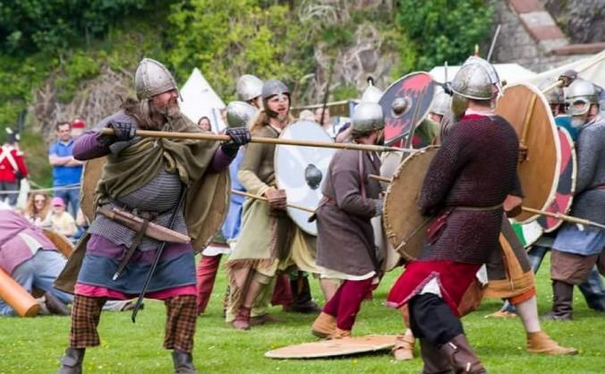 Scottish living history festival image