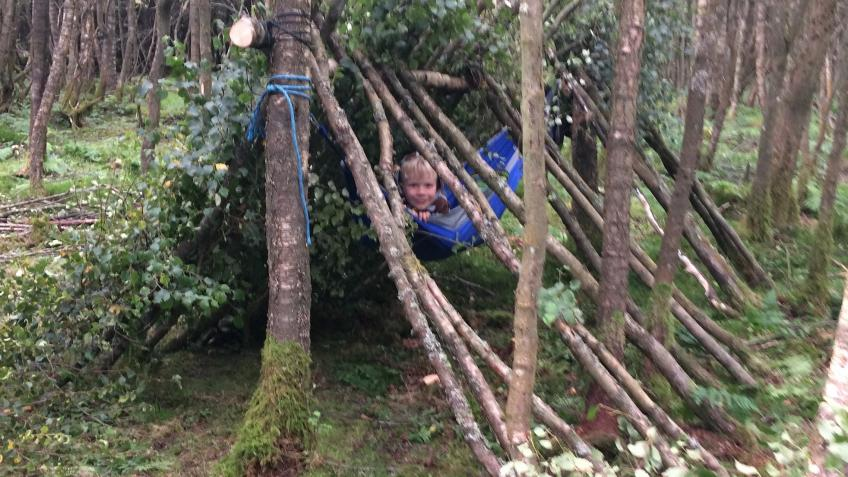 Help a child access Therapeutic Forest School