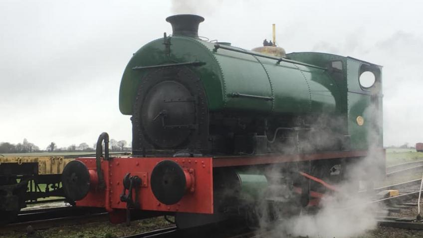Steam for the Kent Colliery line