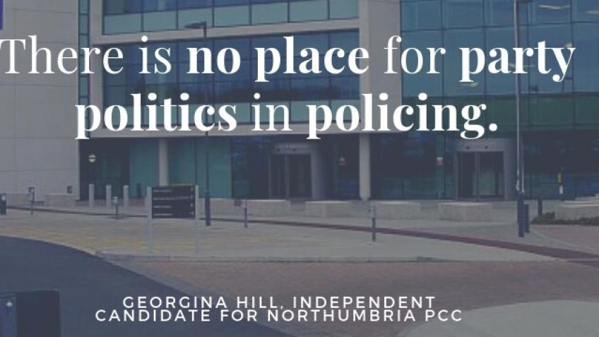 Georgina Hill INDEPENDENT for Northumbria PCC