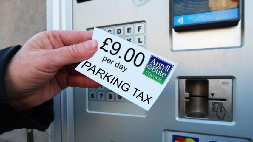 TARGET REACHED! Island Parking Tax Fighting Fund