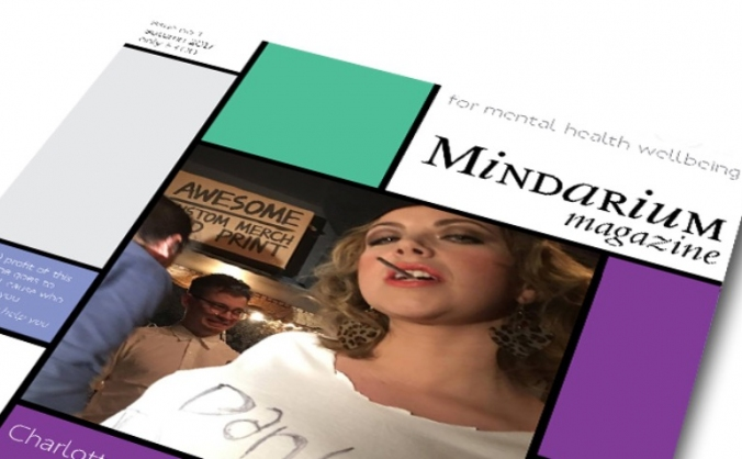 Mindarium magazine for mental health wellbeing image