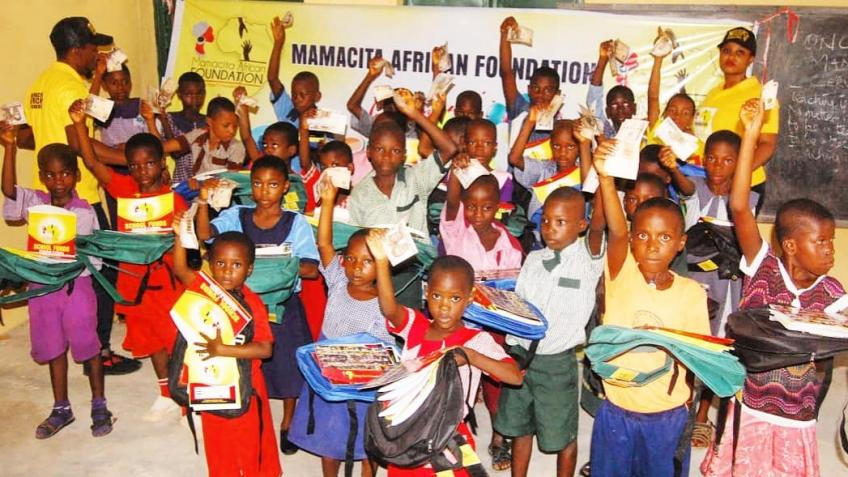 Back to school project for less privileged kids