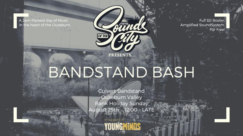 Sounds of the City Charity Bandstand Bash