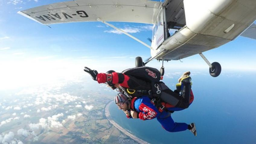 13,000ft Skydive!
