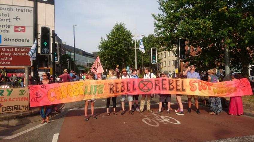 Extinction Rebellion Exeter - Support Our Rebels!