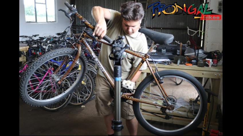 Can you help us change lives with Prodigal Bikes?