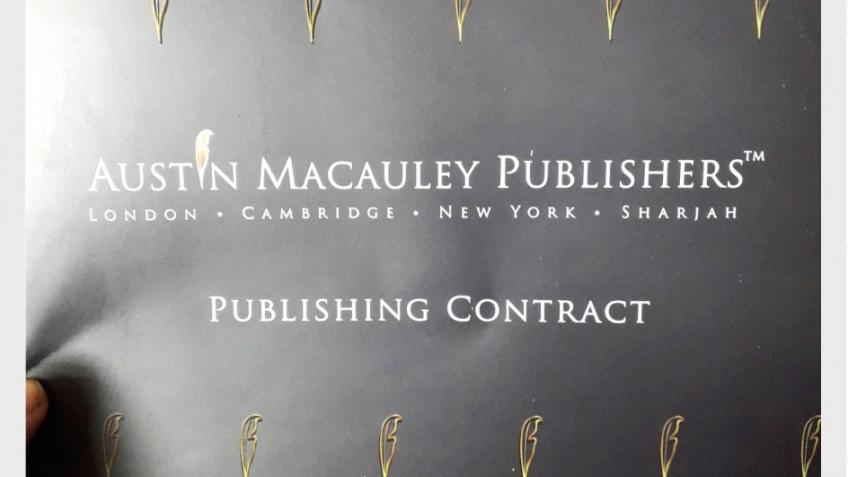 Book publishing deal