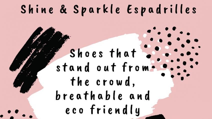 Shine and Sparkle Designs - Eco Espadrilles
