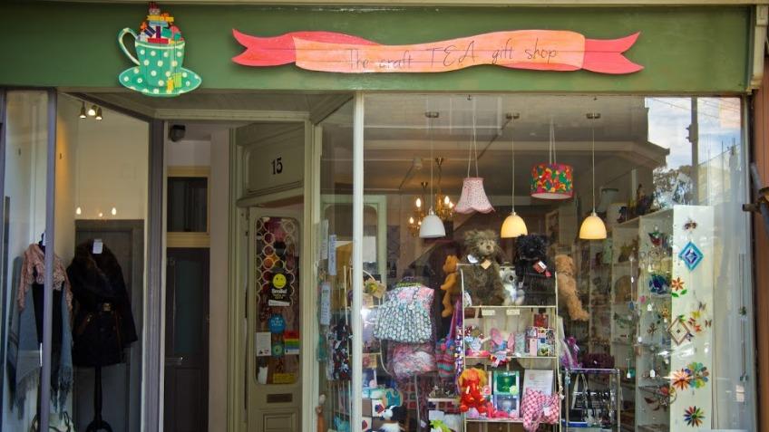 Help Us Put The Tea Inthe Craft Tea Gift Shop A Business